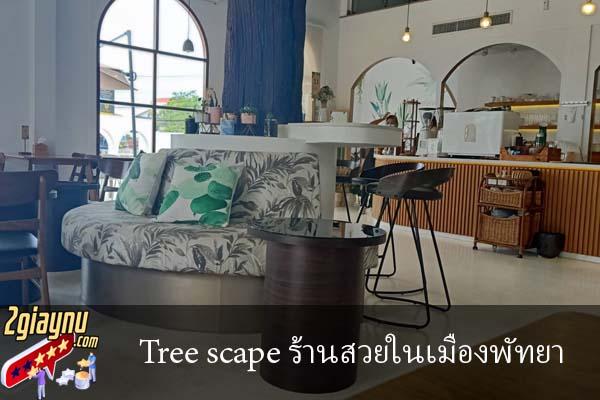 Tree scape ร้านสวยในเมืองพัทยา